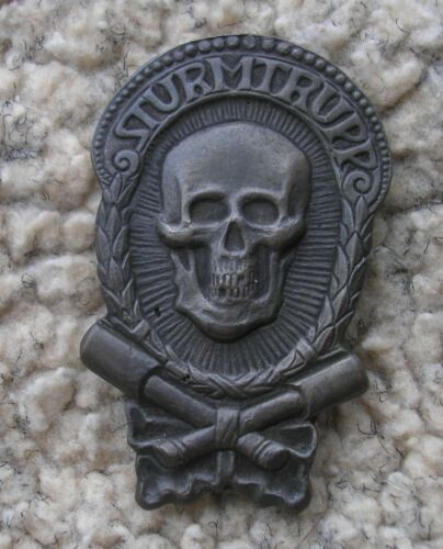 Imperial-German-Stormtrooper-Badge-WWI ORIGINAL