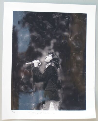 Jim Morrison of the Doors. Signed, numbered photo by Gene Anthony,1967