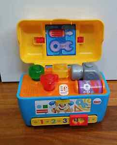 Fisher Price Laugh and Learn Toolbox Glen Iris Boroondara Area Preview