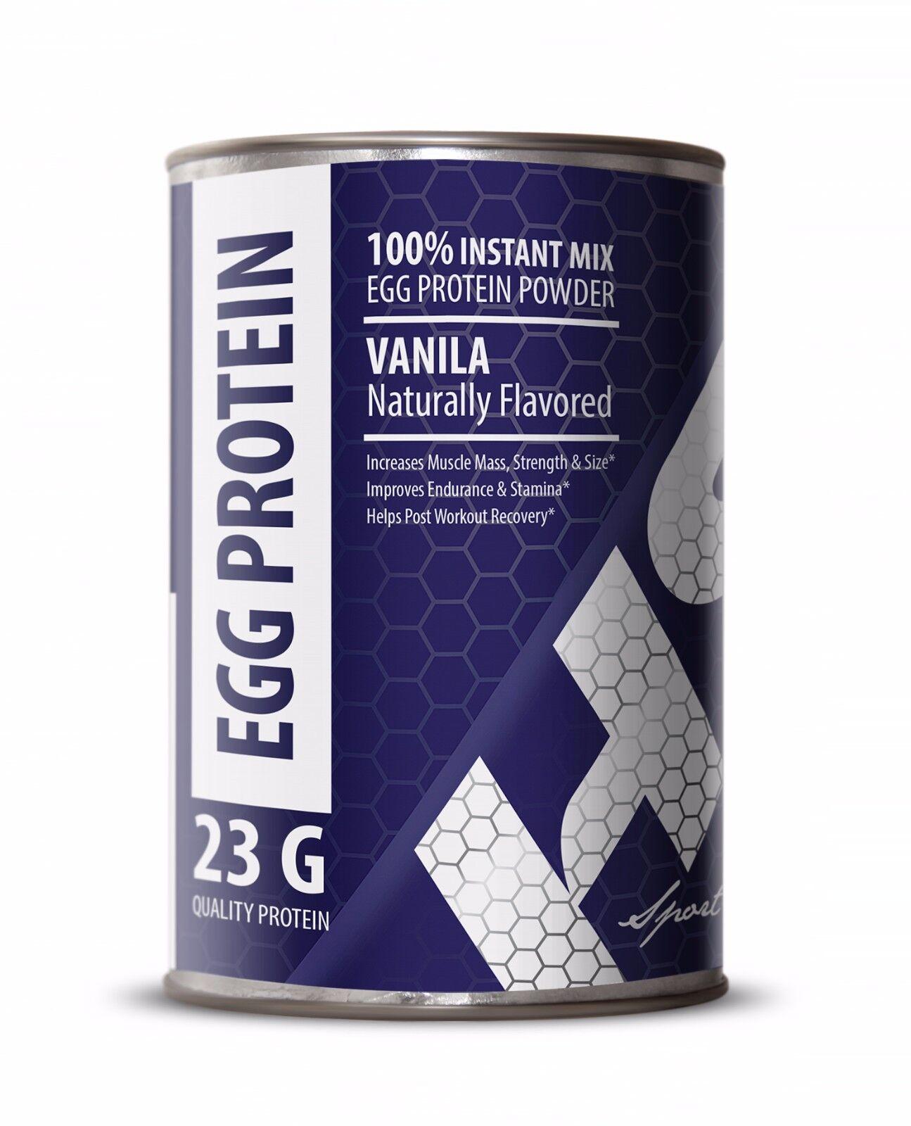 EGG Protein Vanilla Naturally Flavored. Powder NON-GMO. Musc