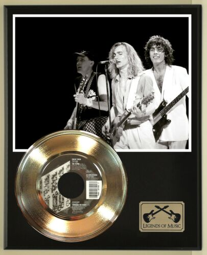 """Cheap Trick """"The Flame"""" Record Display Wood Plaque"""