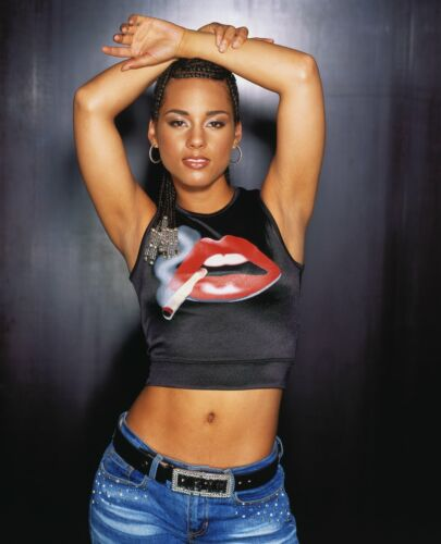 ALICIA KEYS 8X10 GLOSSY PHOTO PICTURE IMAGE #6