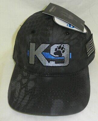Blue Police Hat (K9 Hat POLICE HAT THIN BLUE LINE Kryptek Punisher Hat K9 HAT THIN BLUE LINE)