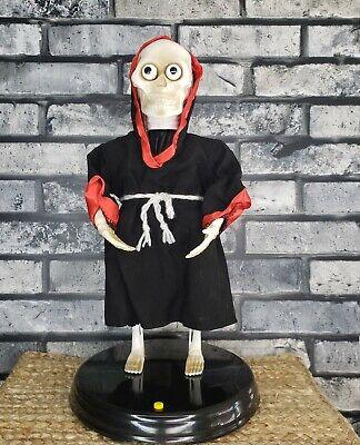 Animated Skeleton LOSES HIS Head **SEE VIDEO Sings Dances Halloween Prop Goth