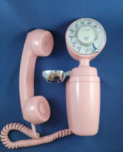 Telephone - Type 183 Space-Maker 1965 - Original Pink - Not Painted - Beautiful