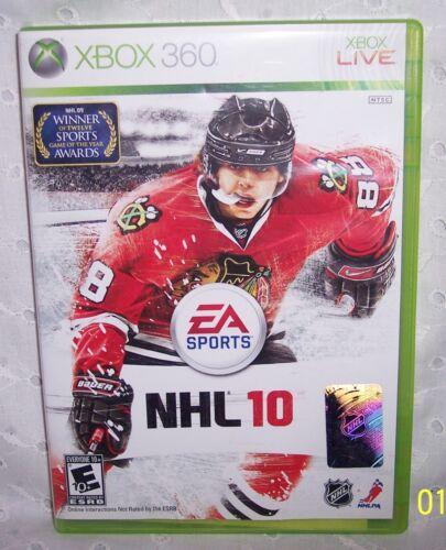 XBOX 360 LIVE - NHL 10 HOCKEY GAME