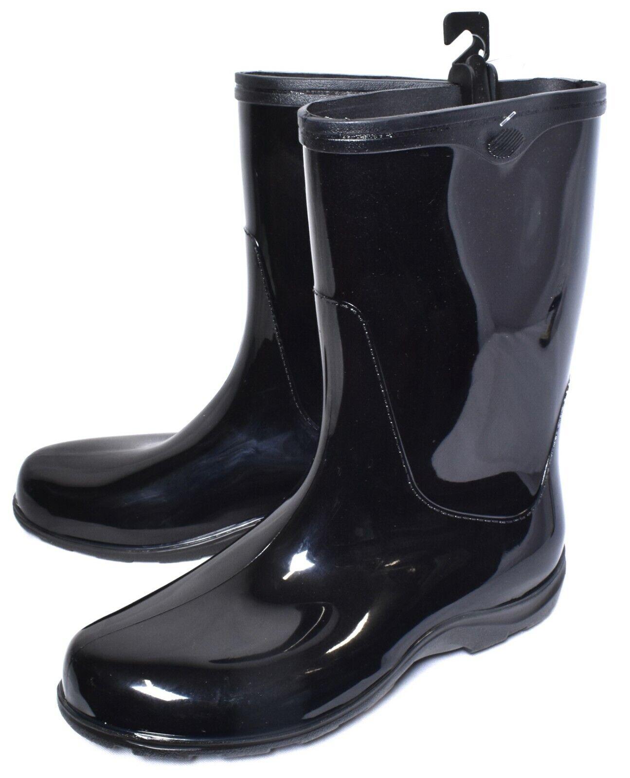 Sloggers 5000BK10 Women's Waterproof Rain Boots, Black - Siz