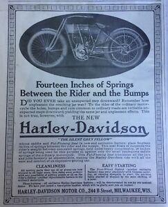 1912 Harley-Davidson ad! May 4, 1912 Saturday Evening Post!