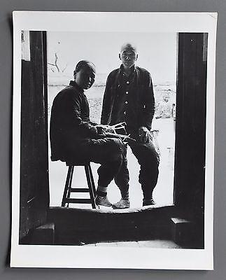 Dmitri Kessel Vintage Silver Gelatin Photo 20x25cm China We two form a multitude