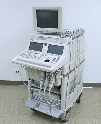 Philips Agilent Hp M2424a Sonos 5500 Ultrasound System W Transducer Probes