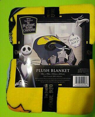 Nightmare Before Christmas Plush Blanket