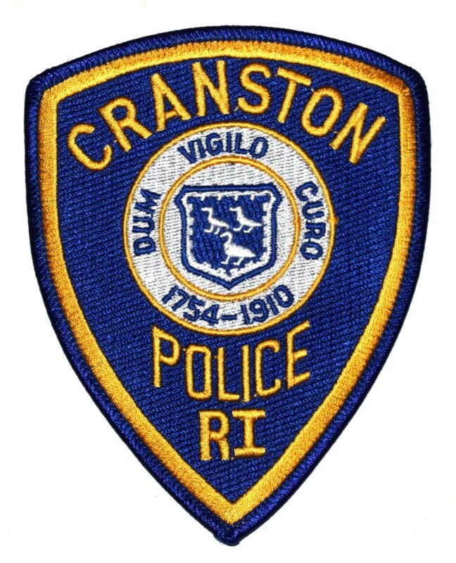 CRANSTON RHODE ISLAND RI Police Sheriff Patch CITY SEAL ~