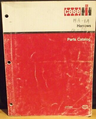 International Ih Disk Harrows Parts Catalog Ha-1a Wrev. 42 Of 1086