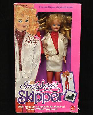 1986 Jewel Secrets Skipper NRFB in Damaged Box