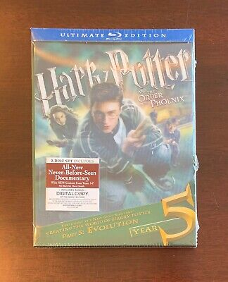 Harry Potter and the Order of the Phoenix - Ultimate Blu-ray - Brand New Sealed