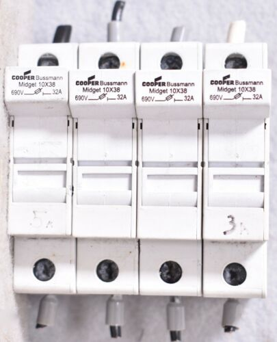Bussmann Solar Fuse Holder Single Fuse Midget 10x38 CHM