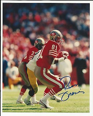 Russ Francis San Francisco 49ers Signed Auto 8x10 Football Photo Autograph