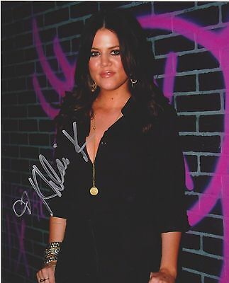 Khloe Kardashian Signed 8X10 Photo