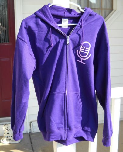 eBay for Business Radio Podcast Hooded Sweatshirt (Purple, Medium) eBayana