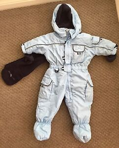 Snowsuit 3m/6m light blue & navy Wright Molonglo Valley Preview