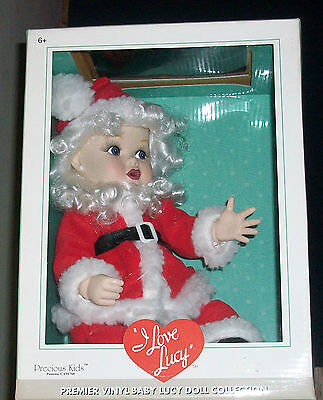 I Love Lucy Santa Baby Doll Christmas Show Episode LED ()