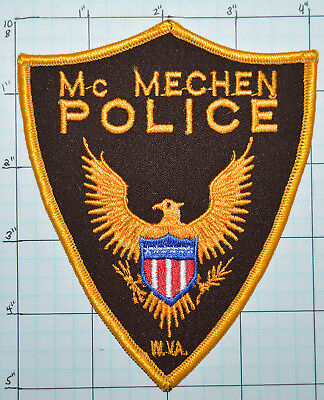 WEST VIRGINIA, McMECHEN POLICE DEPT PATCH
