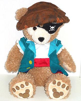 Disney Duffy Bär Plüschtier 43.2cm Piraten Kostüm Augenklappe - Moderne Piraten Kostüme