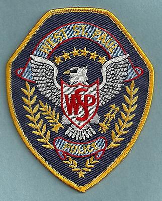 WEST ST. PAUL MINNESOTA POLICE PATCH
