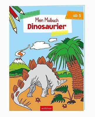 Malbuch ab 5 Jahren - Dinosaurier  Malbuch ab 5 Jahren|Malbuch ab 5 ()