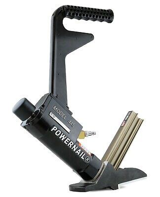 Powernail Model 445xlsw 16-gauge Pneumatic Cleat Nailer For Hardwood Flooring