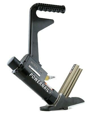 Powernail Model 445xlsw 16-gauge Pneumatic Cleat Nailer For Hardwood Flooring
