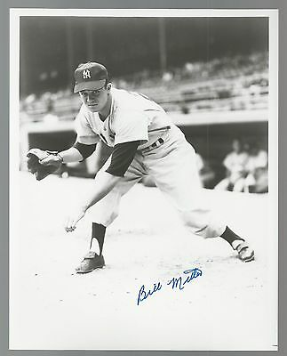 Bill Miller New York Yankees Signed Auto 8x10 Photo Autograph