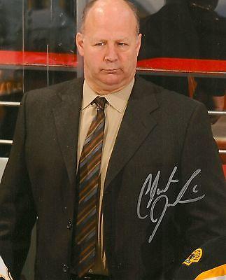 Claude Julien Signed Boston Bruins 8X10 Photo W  Coa