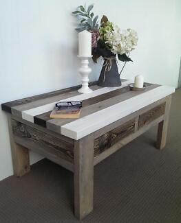 *New* Handmade Tiramisu Coffee Table Rustic/French Provincial