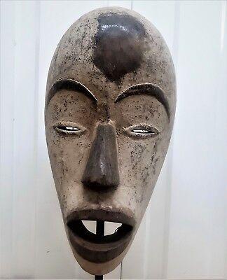 Old Tribal Dan Mask Liberia Africa Fes-Gb1510
