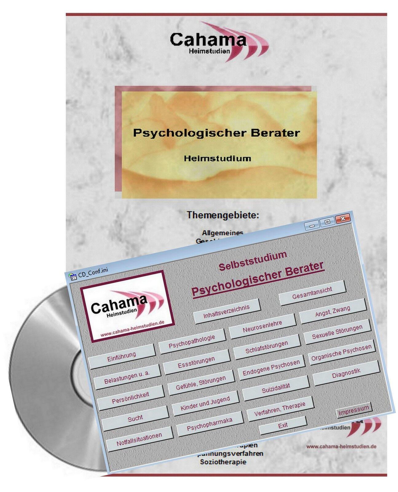 Psychologischer Berater  - Selbststudium auf CD
