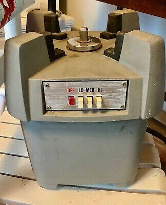 Waring Cb-6 Commercial Professional Food Processor Blender Base Only Works