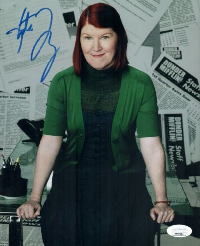 KATE FLANNERY Signed 8X10 THE OFFICE Photo Autograph JSA COA Cert