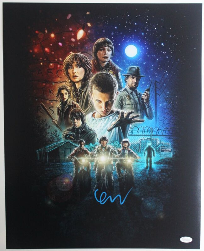 SPECIAL Finn Wolfhard Autograph 16x20 Stranger Things Photo Mike Wheeler Signed
