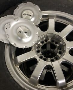 Set of 4 tires on Alloy Rims (F150)
