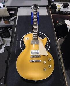 2012 GIBSON LES PAUL STANDARD Electric Guitar W/HSC - GOLDTOP!