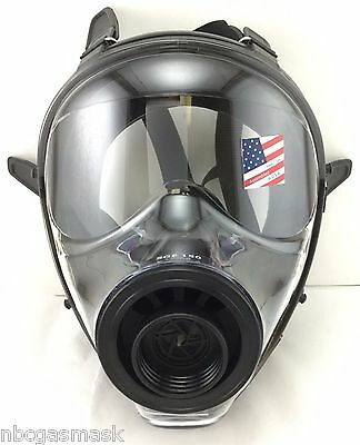 Mestel Safety Sge 150 Nbc Gas Mask - Brand New Mfg Nov 2018 Nato 40mm Resp