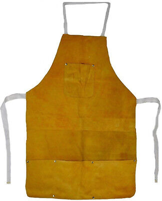 Chicago Electric 45193 - Split Leather Welding Apron Clothing Protection J1-4