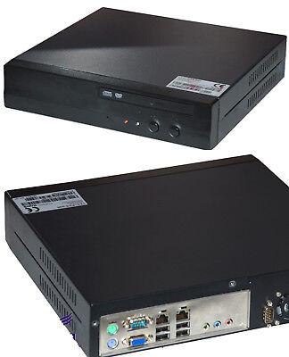 MINI POS PC KASSE 1,5GHz CPU DVD 512 DDR2 10/100 LAN 4x USB 160GB SATA HDD MM Mini 160 Gb Usb