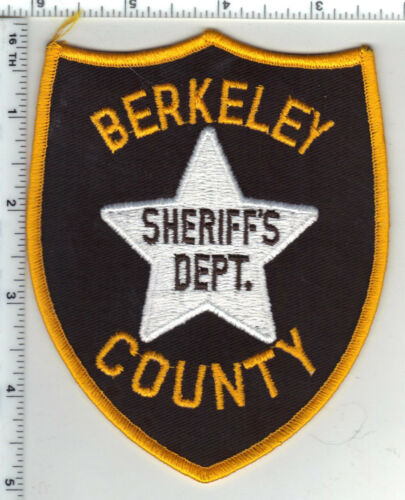 Berkeley County Sheriff Dept. (South Carolina) 3rd Issue Shoulder Patch