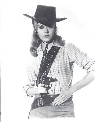 Jane Fonda in Cowboy outfit from Cat Balou 8x10Buy 3 Get 2 Free Beautiful shot - Outfits From Movies