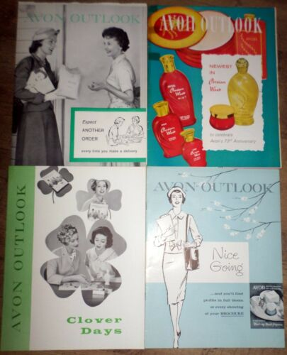 Avon Outlook Magazines in the Year 1959 16 Magazines Ephemera Scrapbooking