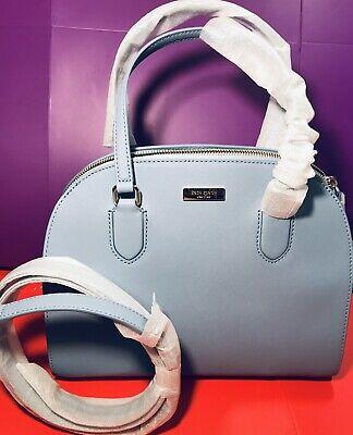 Kate Spade Handbag Reiley Laurel Way Cloudcover Blue RRP£375 On Sale