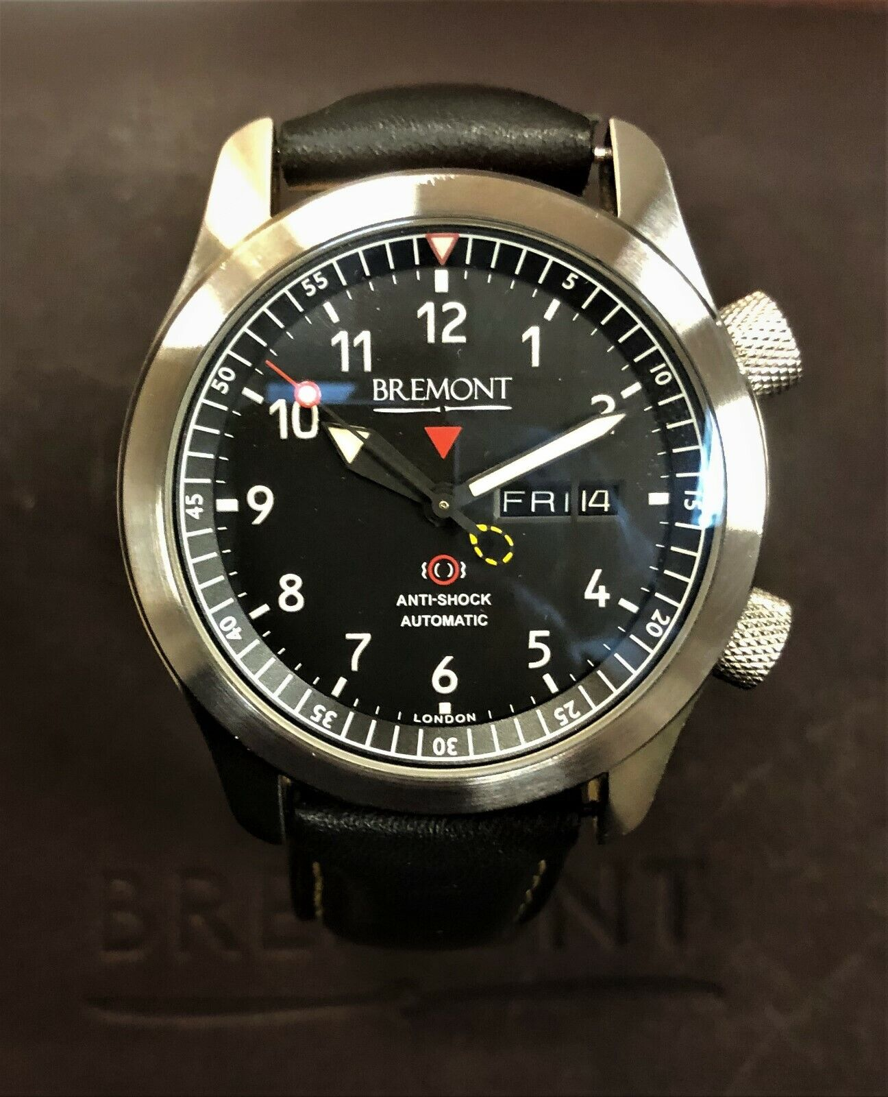 Bremont Martin Baker MBII-BK/OR - watch picture 1