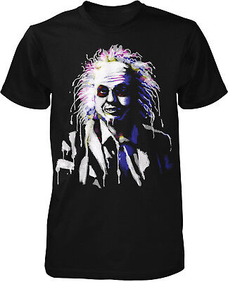 beetlejuice Fun T-Shirt Film Klassiker Parodie Lustig Horror Halloween Geister  (Halloween Film T Shirts)